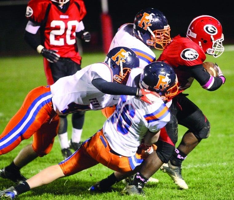 Hs Football Jackson Leads Geneva To Win Over Penn Yan