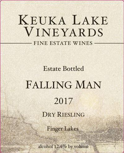 Keuka Lake Vineyards Falling Man Riesling