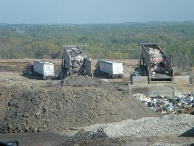 Seneca Meadows landfill