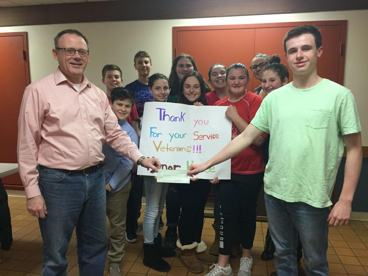Seneca Falls United Methodist Church youth group