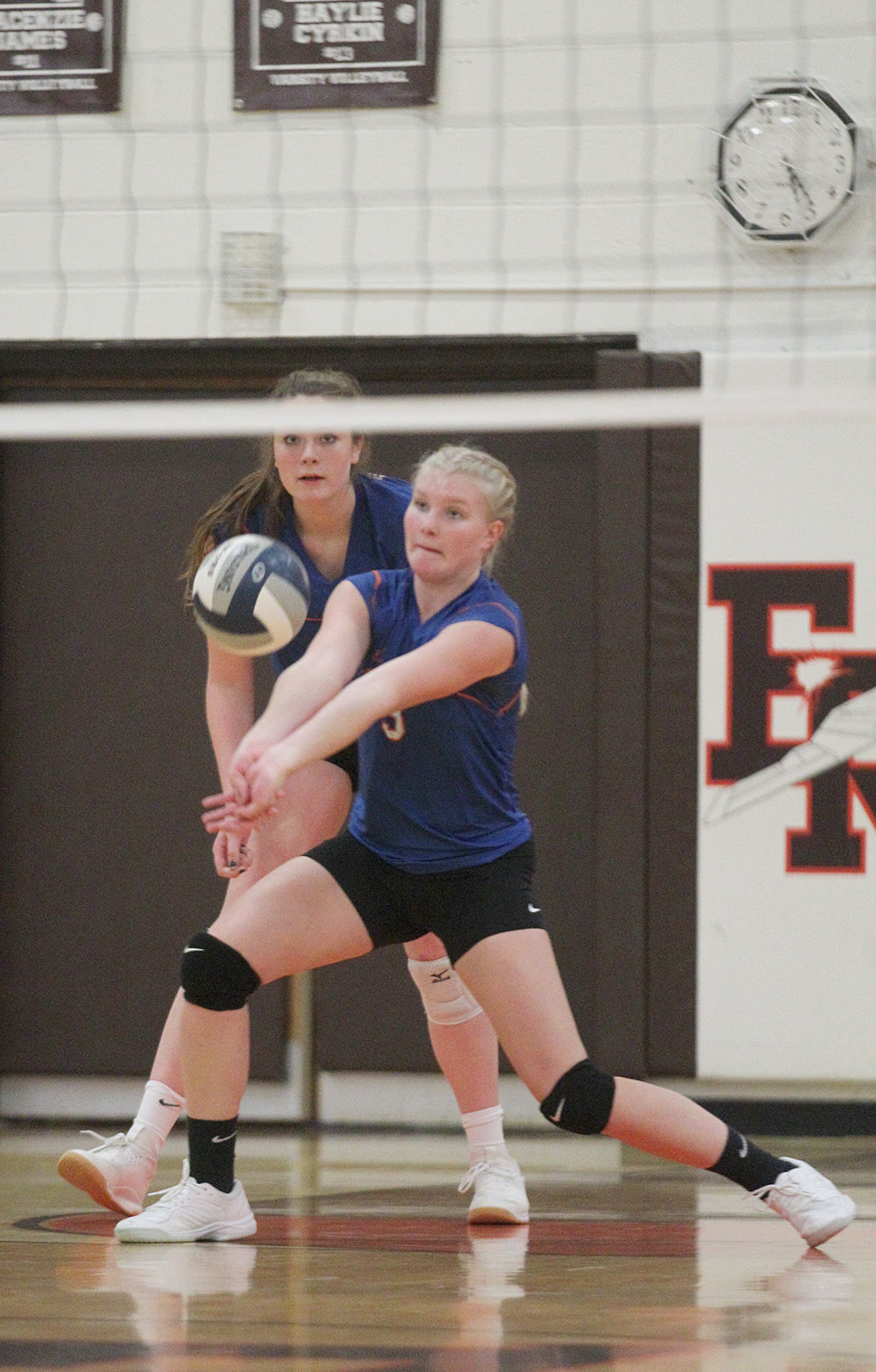 Penn Yan vs. NR-W girls volleyball