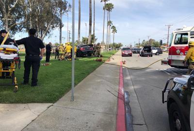 UPDATE: Man dies in car accident at Veterans Park in Fontana on May