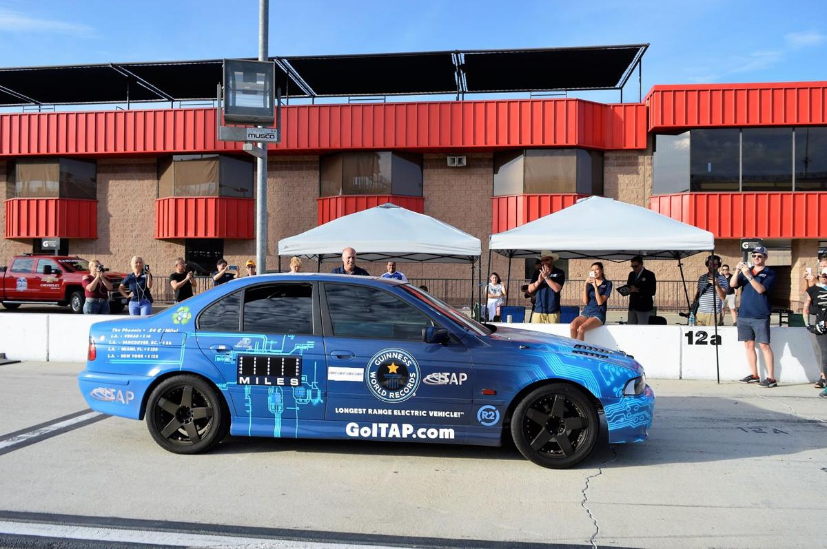 The Phoenix Set A New World Record For Greatest Distance Covered By An Electric Vehicle Single Charge Non Solar On Oct 17 At Auto Club Sdway In