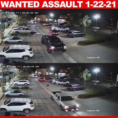 Suspect vehicles
