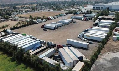 Truck terminal facility