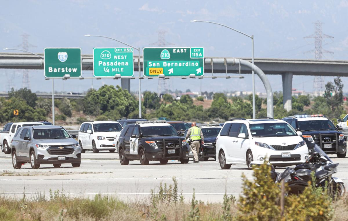 Woman dies in motorcycle collision on Interstate 15 in