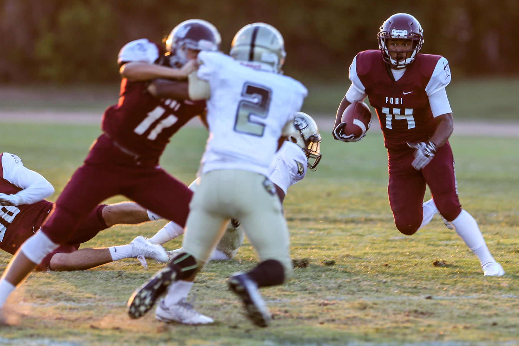 Maurice Powell rushes for 370 yards in