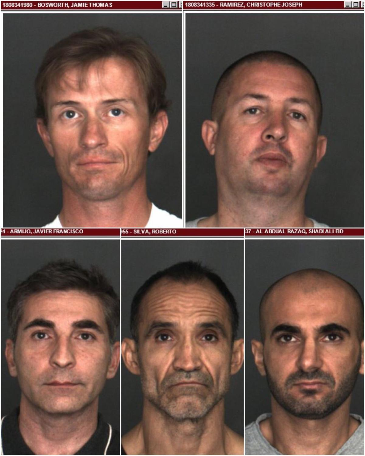 Nine men are arrested for allegedly attempting to meet a