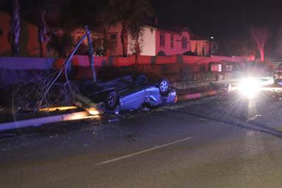 Vehicle crash
