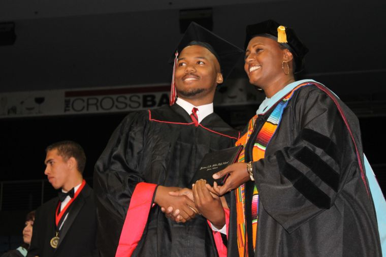 Miller students gather for 2014 graduation ceremony; see photo slideshow