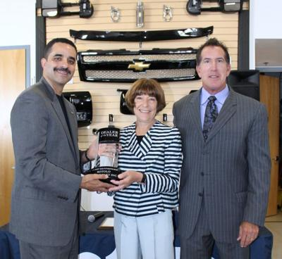 Rotolo Chevrolet Receives Dealer Of The Year Award