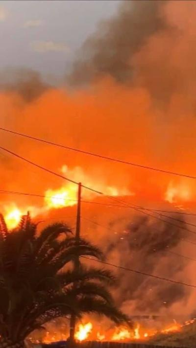 Fire burns about 15 acres in Little Mountain area of San