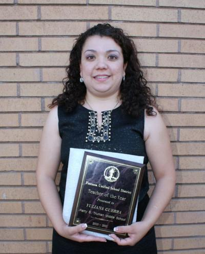 Guerra honored as Teacher of the Year in Fontana