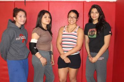 Miller's Monica Samaniego is a star in prep female wrestling and hopes to win state title