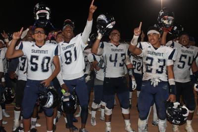 Summit Football Team Conquers Norte Vista 35 21 See Video
