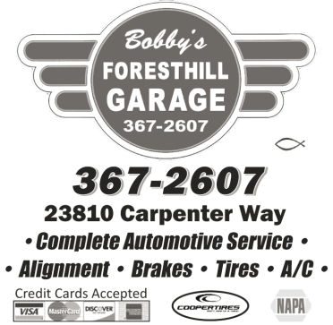 Bobby's Foresthill Garage