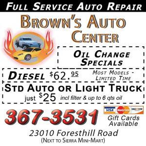 browns auto