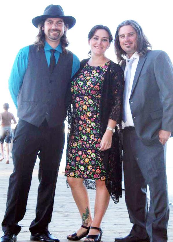 John, Madeline & Jesse Peters