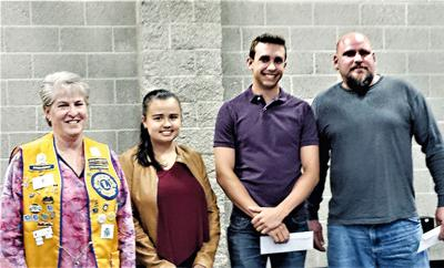 Lions Club Gives Scholarships