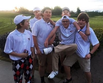 Wildfires Varsity Golf Team