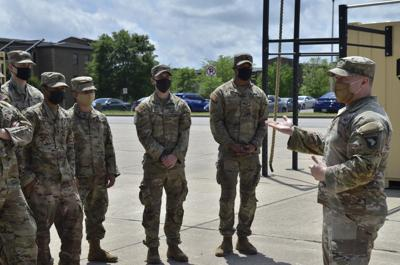 Strike Soldier makes vaccine push after COVID-19 derails military career