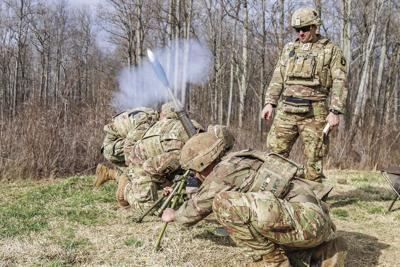 1-506th conducts live-fire expercise, prepares for best mortar competition