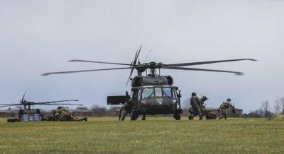 Joint forcible entry exercise brings together Army, Air Force, Air National Guard