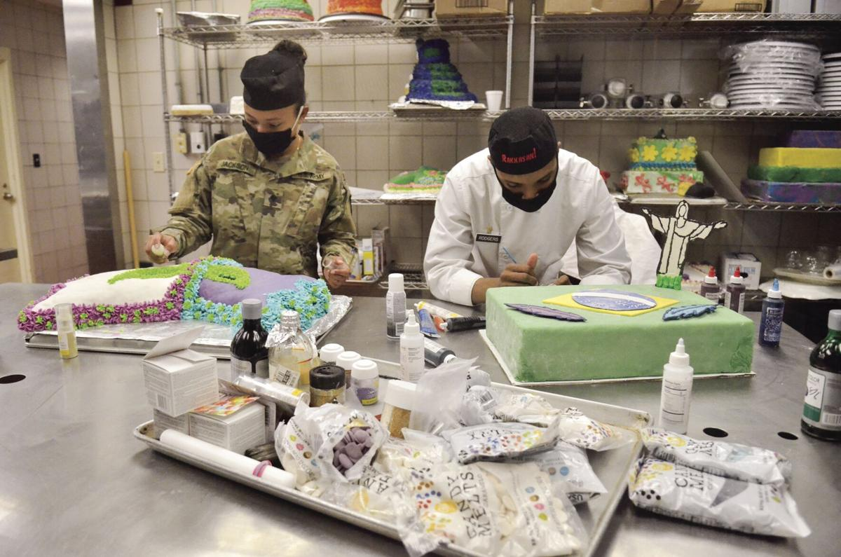 Commanding General's Best Decorated Dining Facility Competition tests culinary specialists' skills, techniques