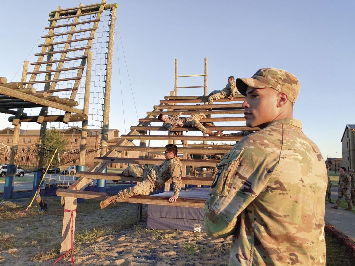 Staff Sergeant shares culture as he mentors young Soldiers
