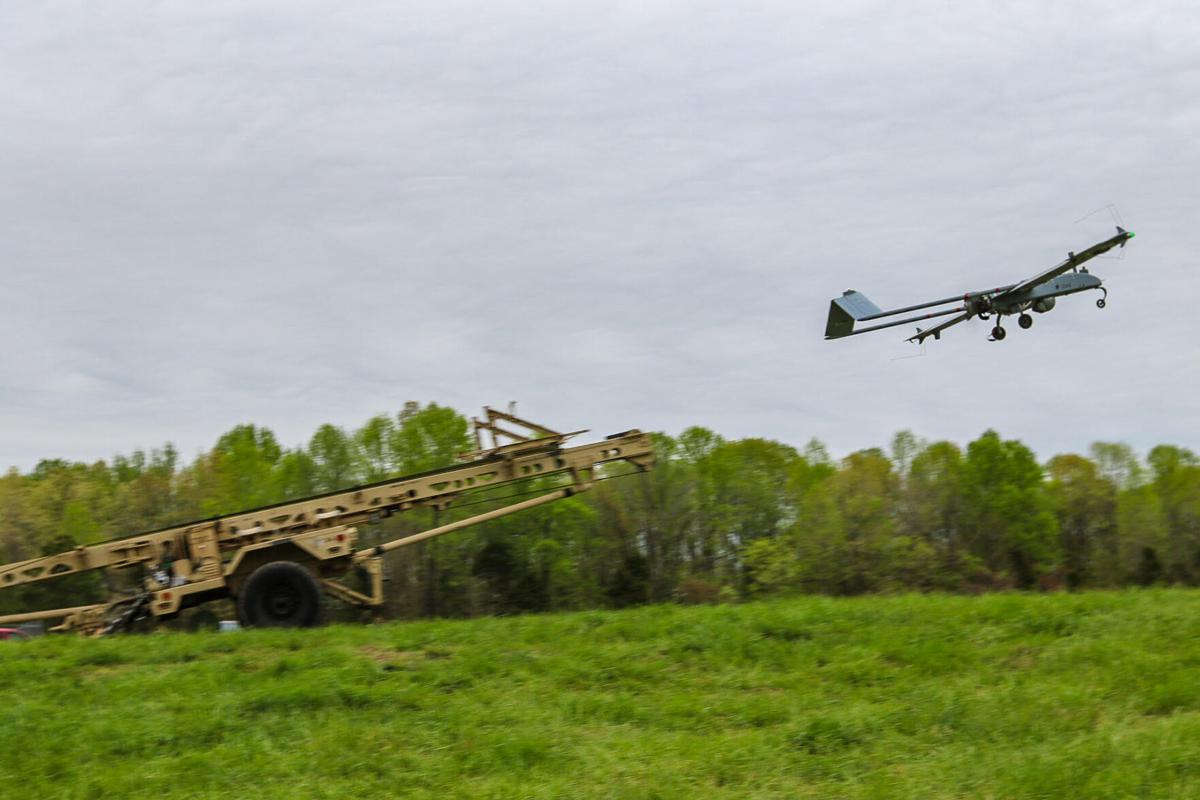 Bastogne Stalkers perfect unmanned aerial surveillance with Shadow