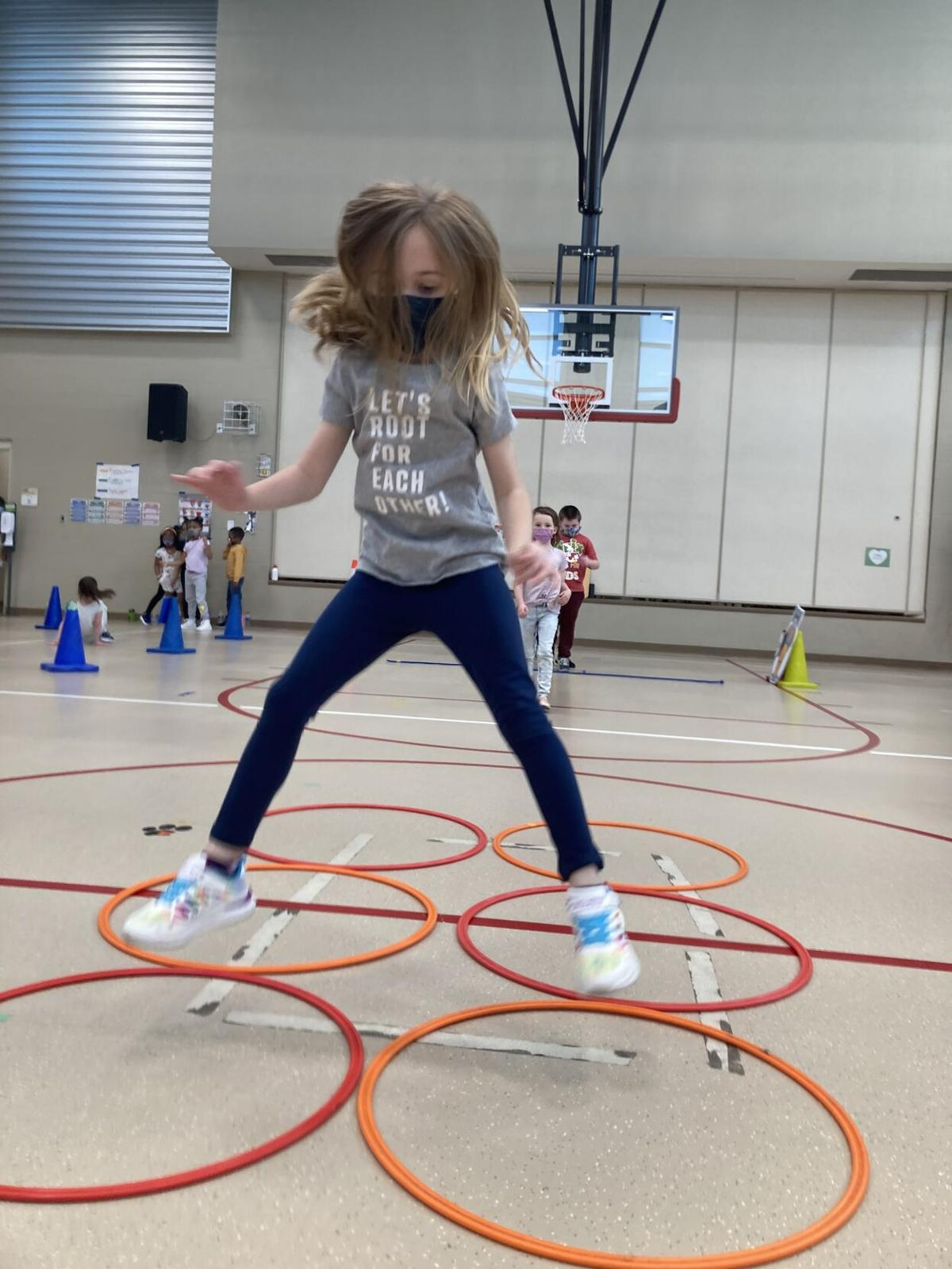 Obstacle course with heart gets students' pulses pumping