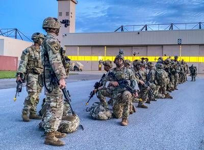 Division completes third edre in two months, increases readiness