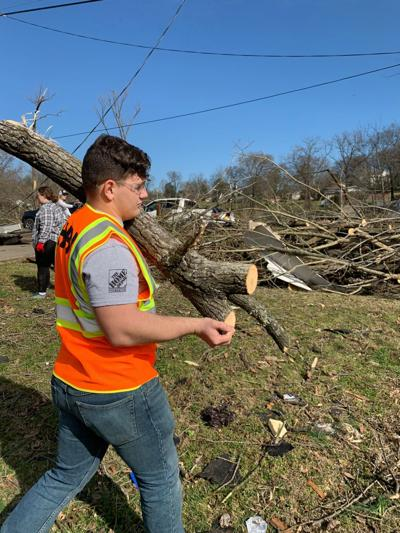 HBI transitioning Soldiers help Nashville tornado victims, gain experience