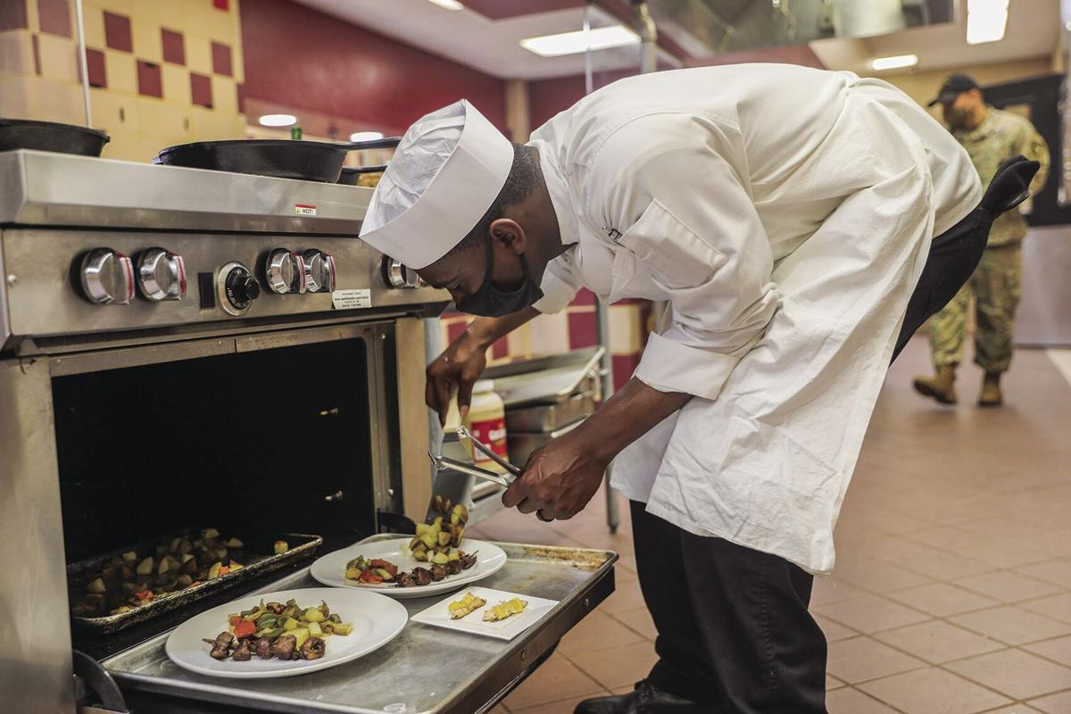 Bastogne Soldiers represent in chef competition