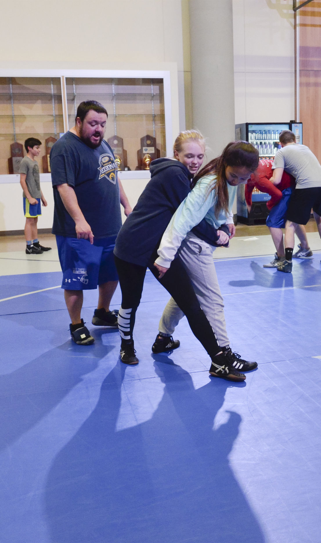 12 FCHS girls pave way to future: Falcons form first all-female wrestling team in school history