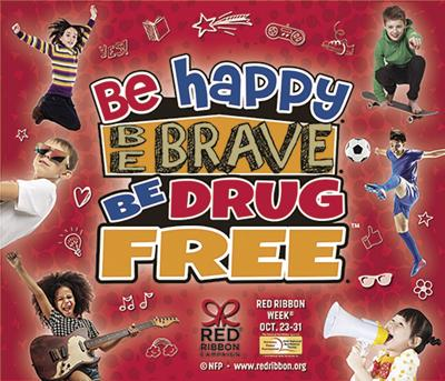 Red Ribbon Week educates children about substance abuse