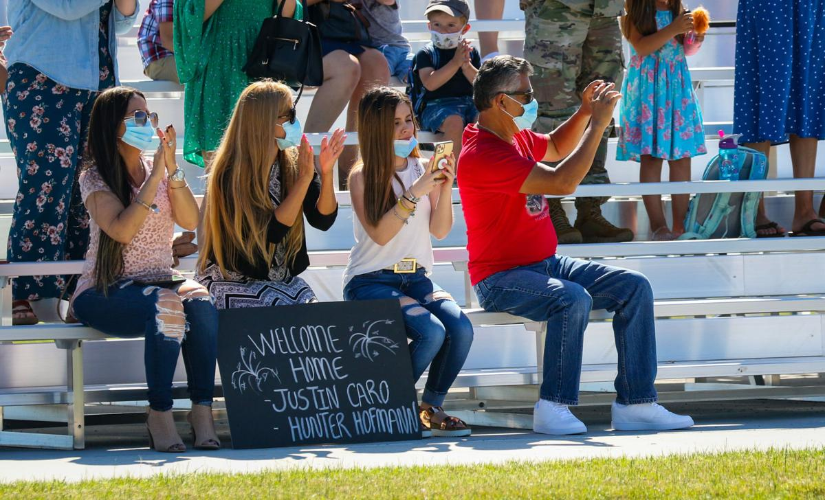 101st Airborne Division, Families welcome home about 230 White Currahee Soldiers