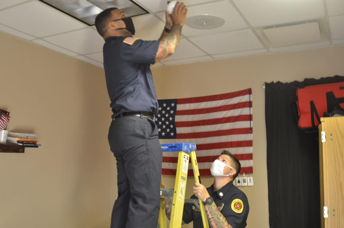 Children 'Learn the Sounds of Fire Safety' during National Fire Prevention Week campaign