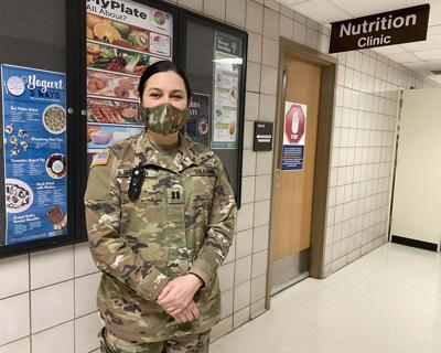 Army dietitian part of COVID-19 fight