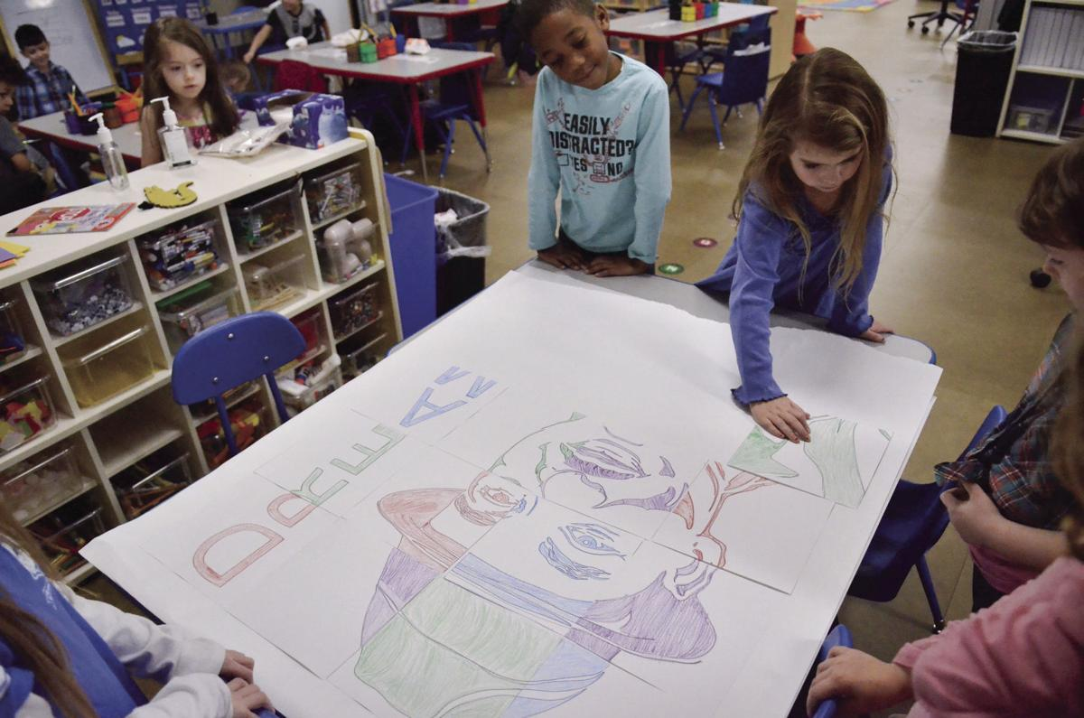 Students honor Martin Luther King Jr. with lessons of kindness