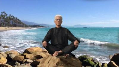 Danson shares tips for healthy aging