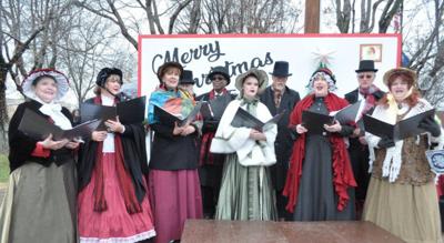 Small Town Christmas Photo