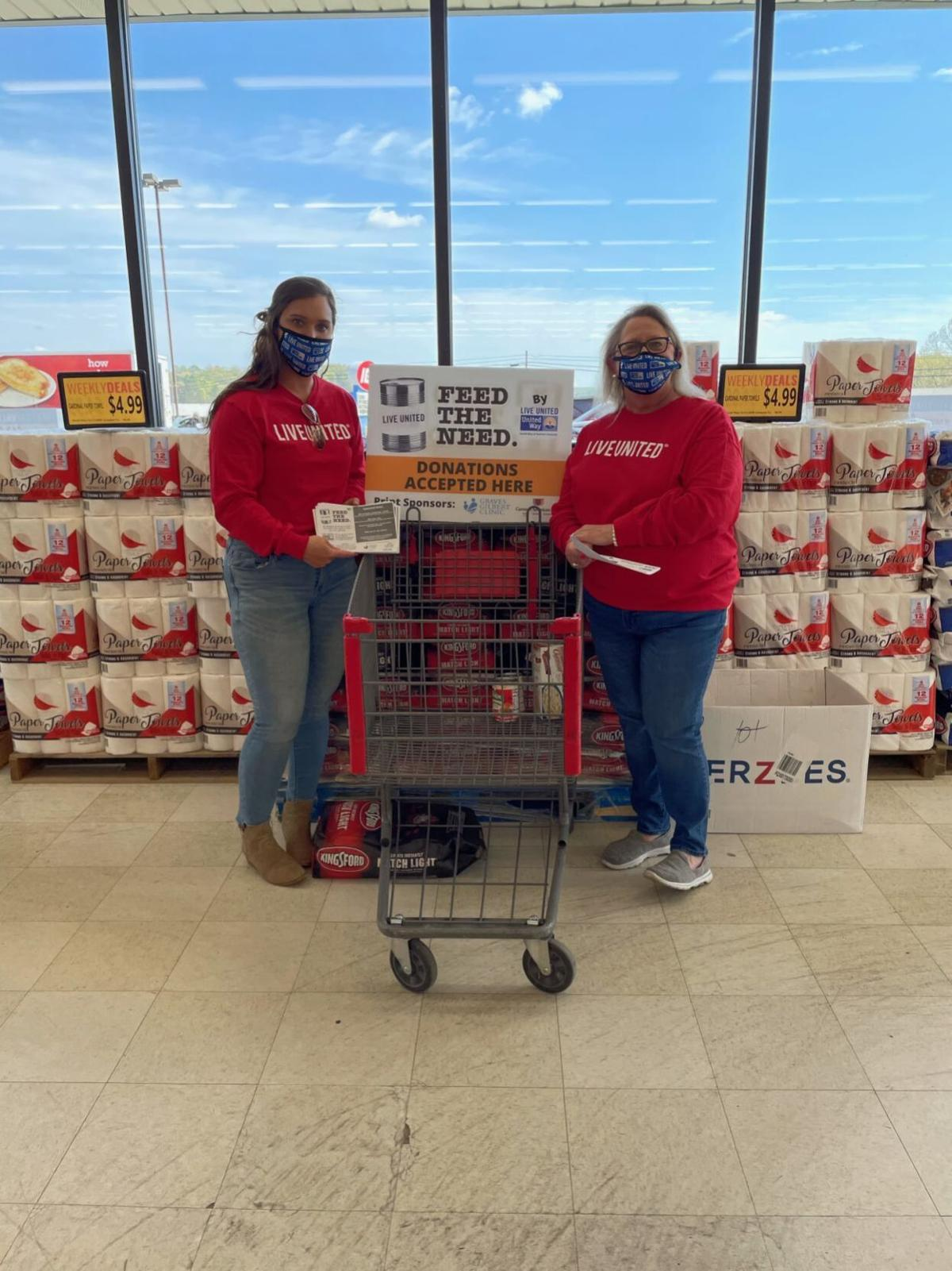 Feed the Need results in more than 60,000 non-perishable items
