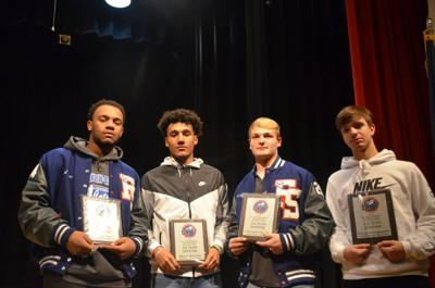 Four Wildcat football players earn SKY Conference Awards