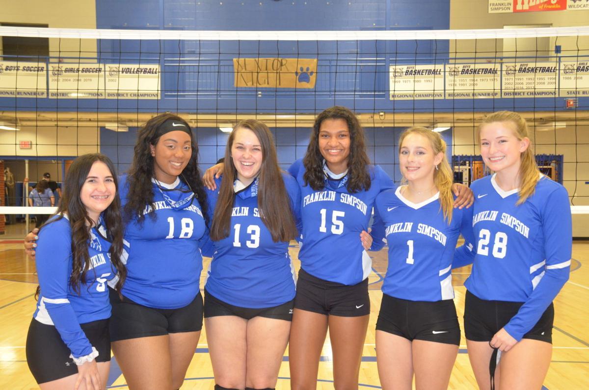 Volleyball Senior Night 1