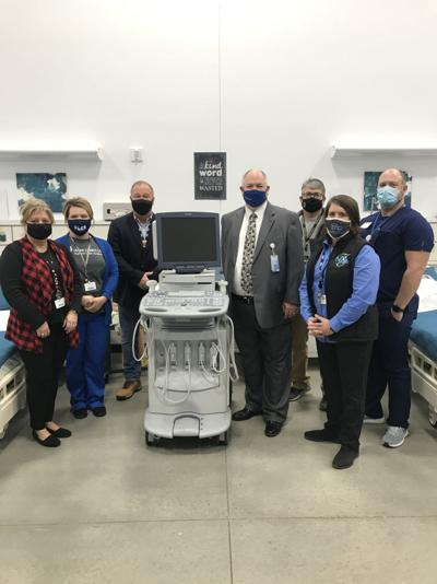 Logan Memorial Hospital makes donation to Logan County Career and Technical Center