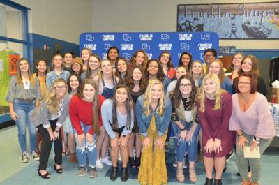 Lady Cats' volleyball team celebrates season