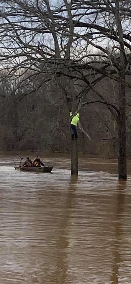 Logan County Search & Rescue help many during flooding