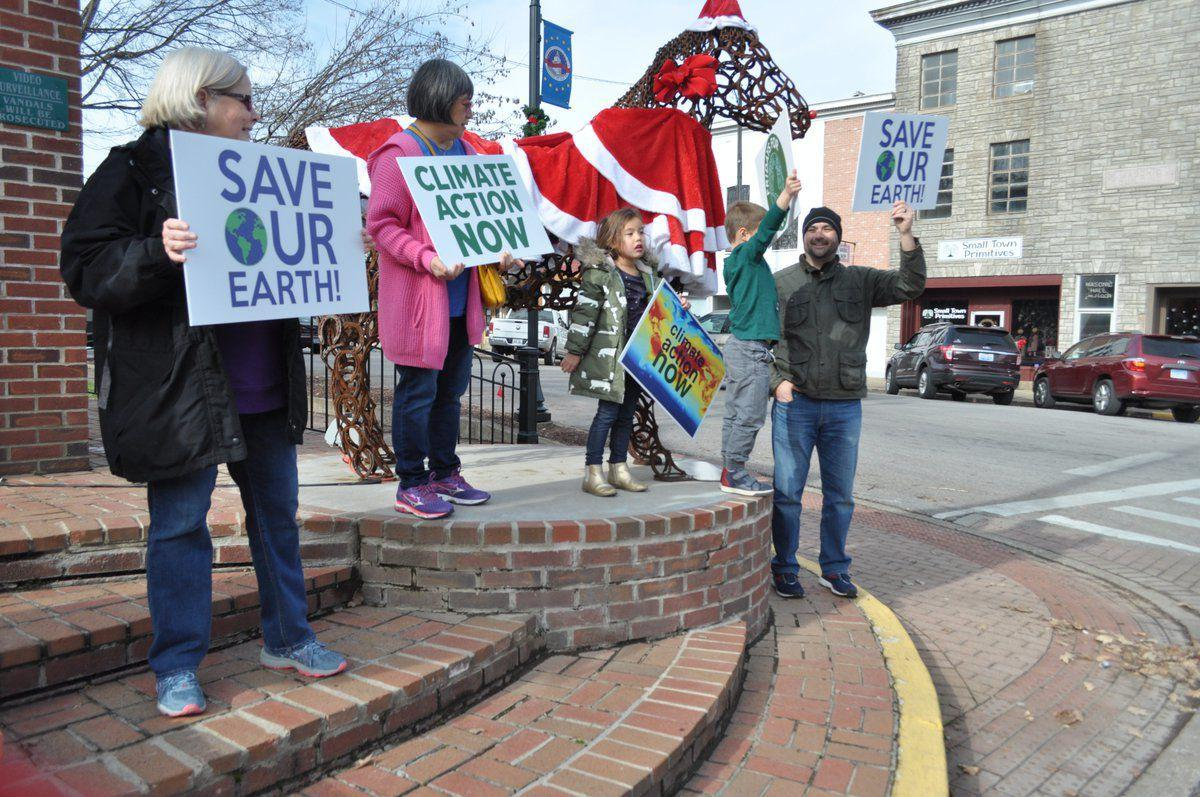 Local residents participate in Fridays for Future to raise climate awareness