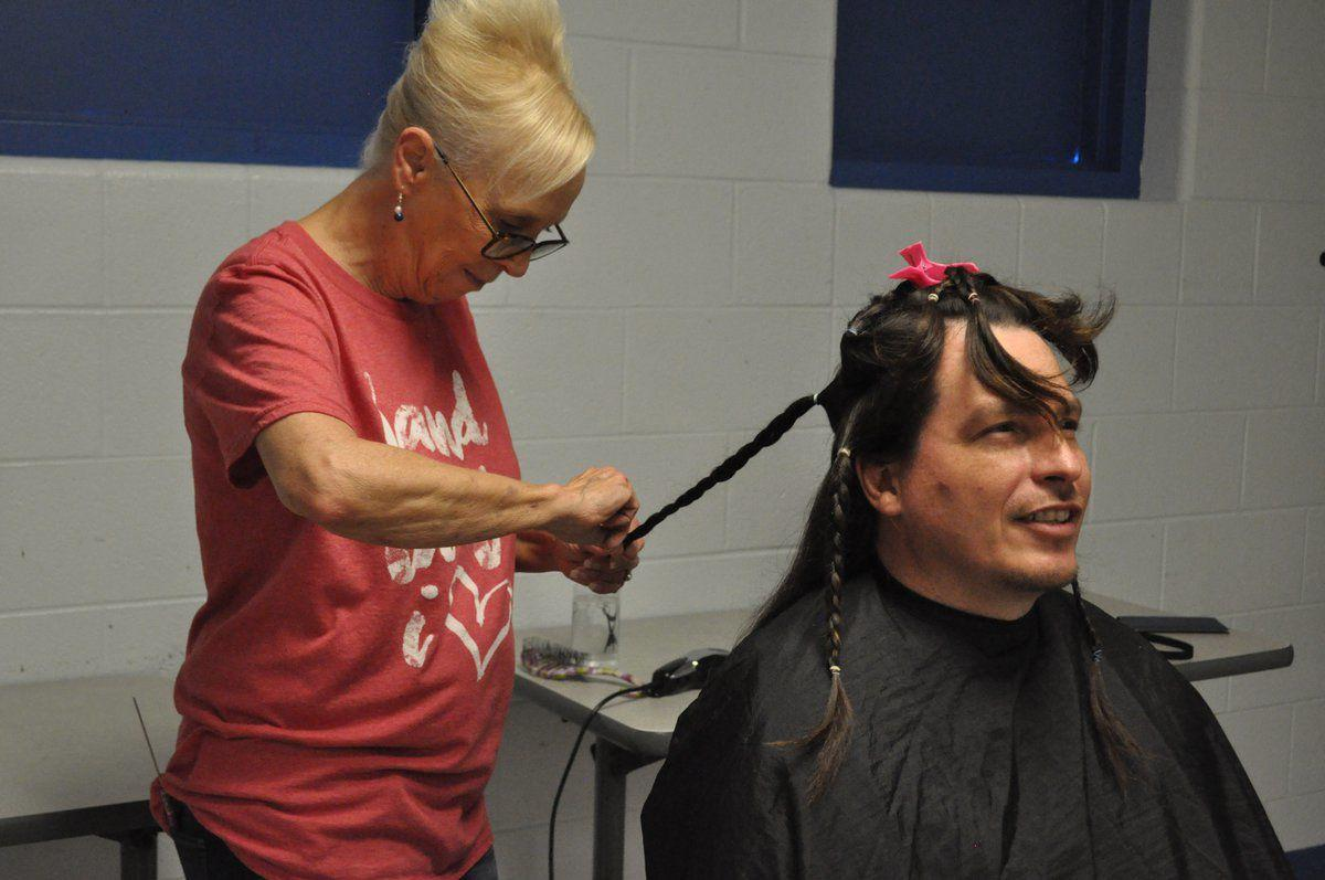 Simpson County Detention Center resident cuts hair for Wigs For Kids